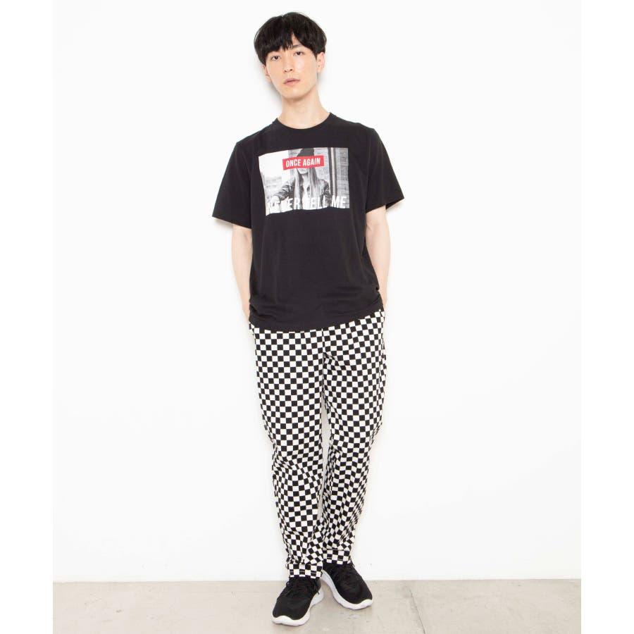 モノトーンガールフォトボックスTシャツ2 WE20SS06-M5003 2