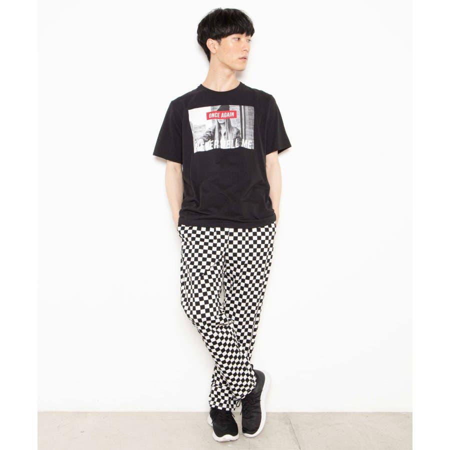 モノトーンガールフォトボックスTシャツ2 WE20SS06-M5003 4
