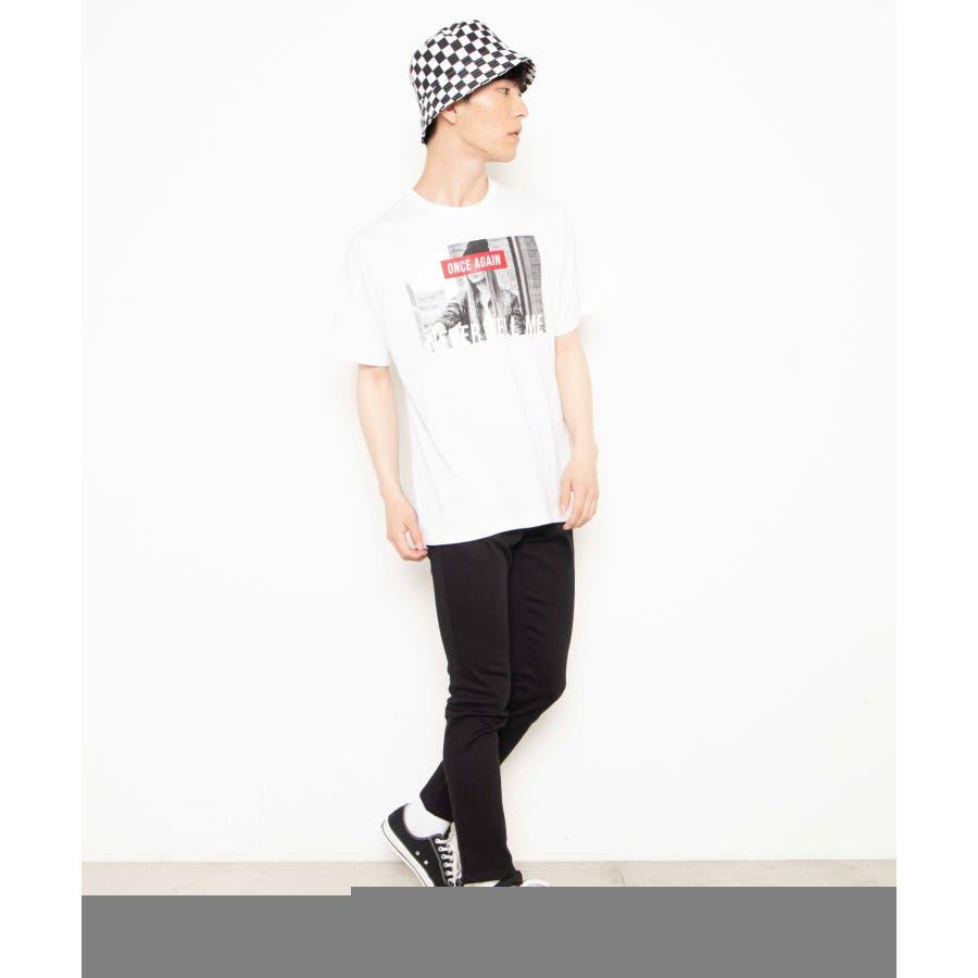 モノトーンガールフォトボックスTシャツ2 WE20SS06-M5003 7