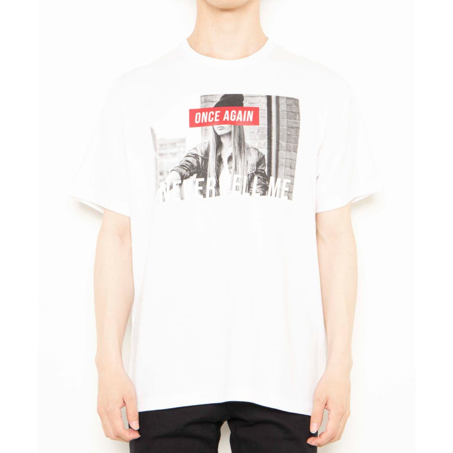モノトーンガールフォトボックスTシャツ2 WE20SS06-M5003 8