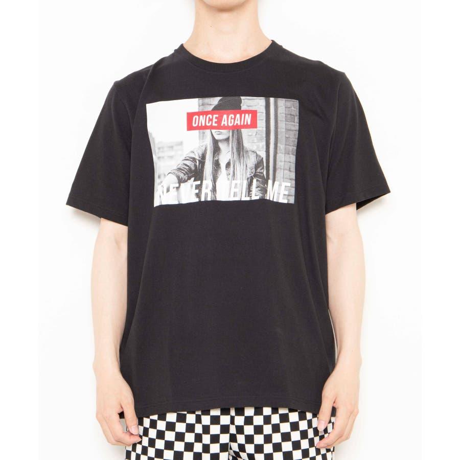 モノトーンガールフォトボックスTシャツ2 WE20SS06-M5003 9