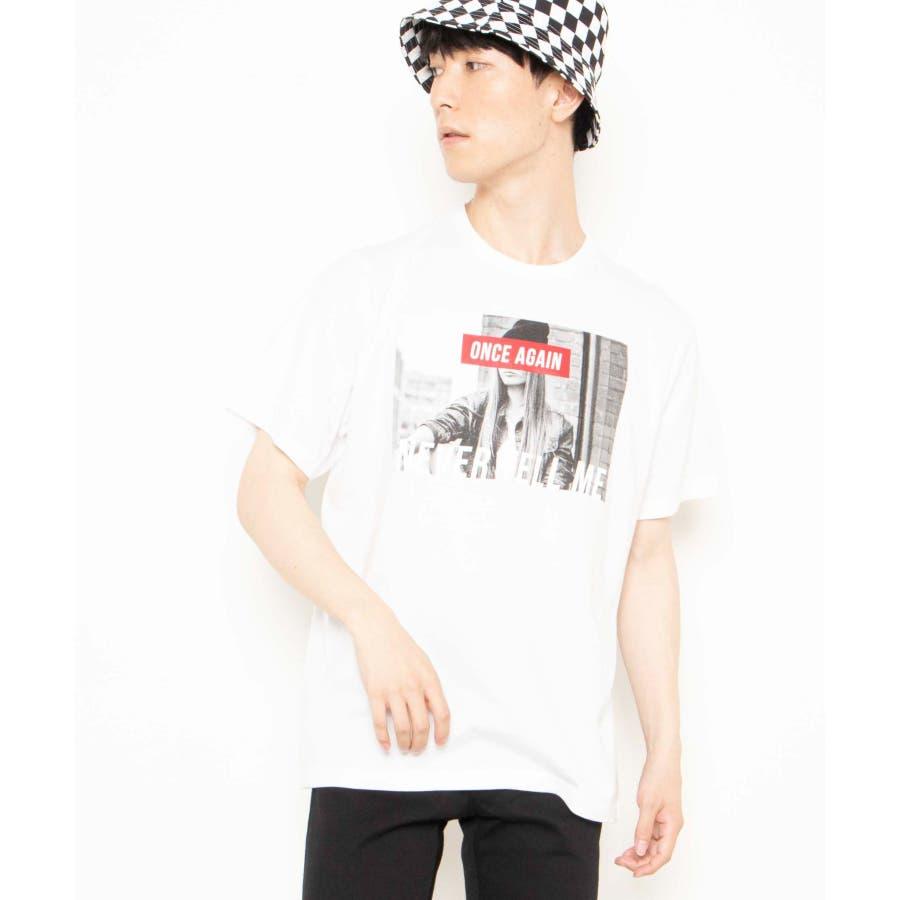 モノトーンガールフォトボックスTシャツ2 WE20SS06-M5003 16