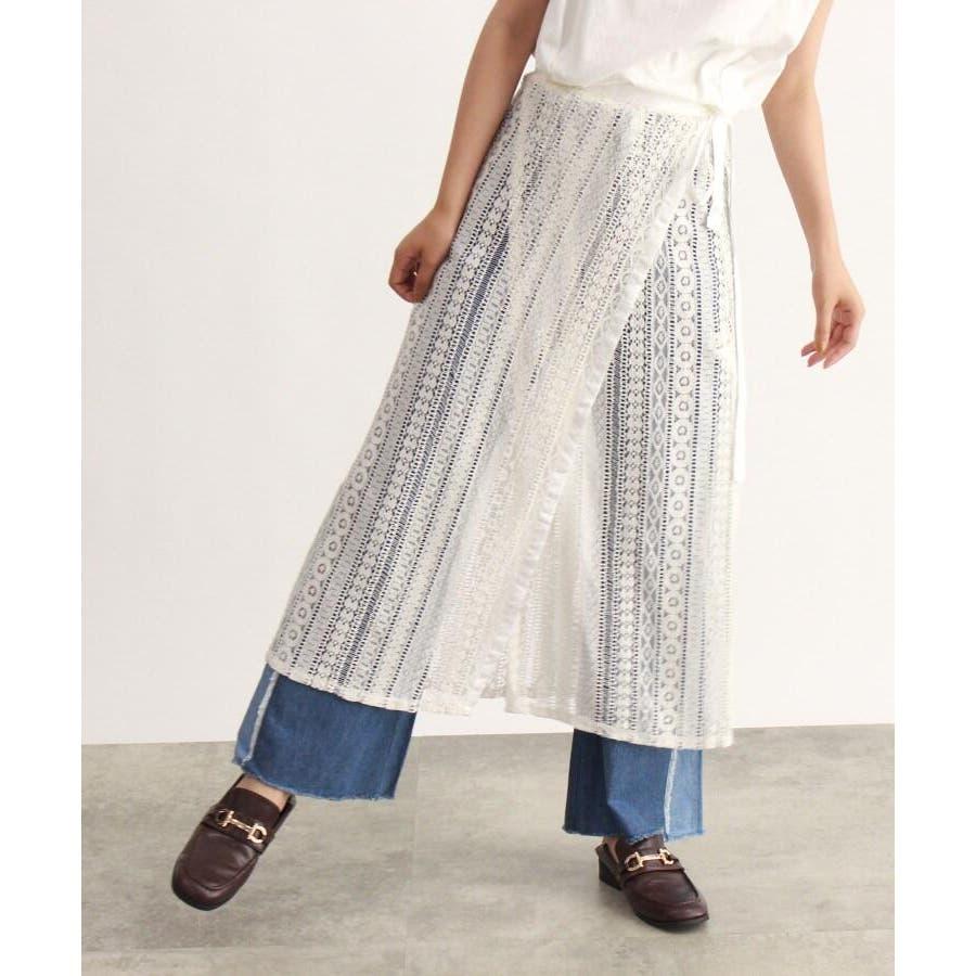 レース巻きスカート 2