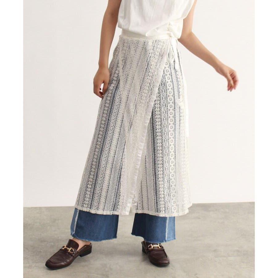 レース巻きスカート 17