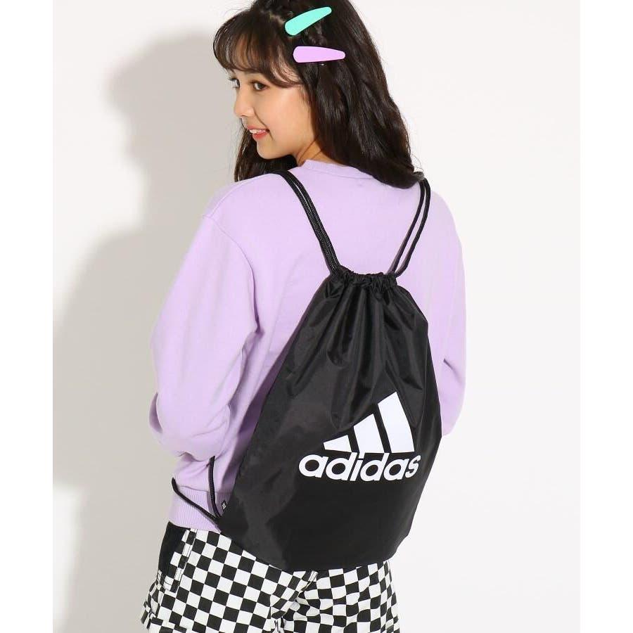【adidas/アディダス】 ビッグロゴジムバッグ 8