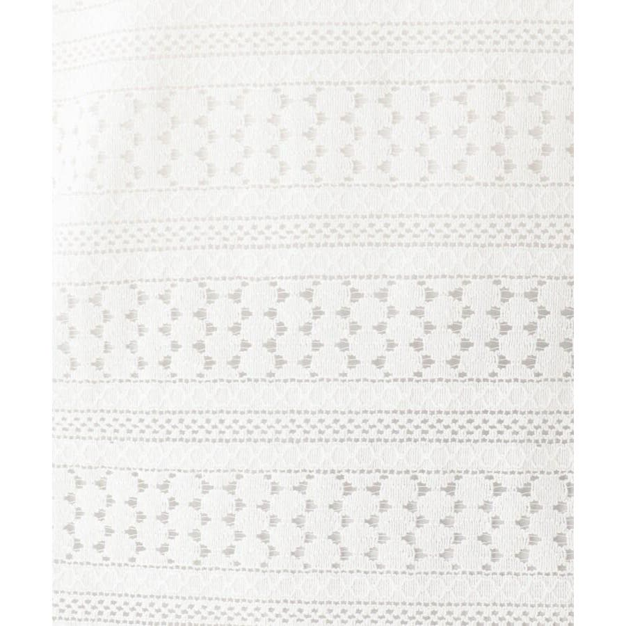 【手洗いOK】透かし編み風プルオーバー 8