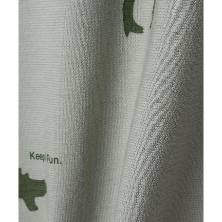 【90-140cm】恐竜プリントTシャツ 7