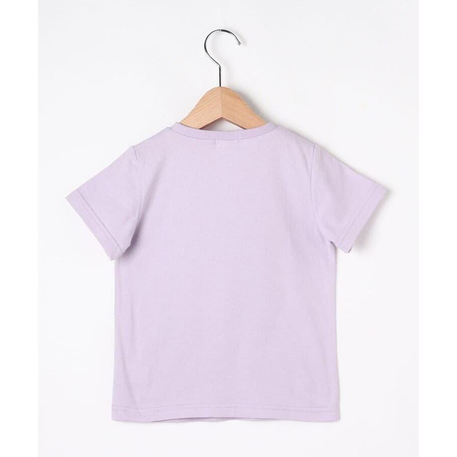 【100-140cm】立体リボンとフルーツ柄Tシャツ 3