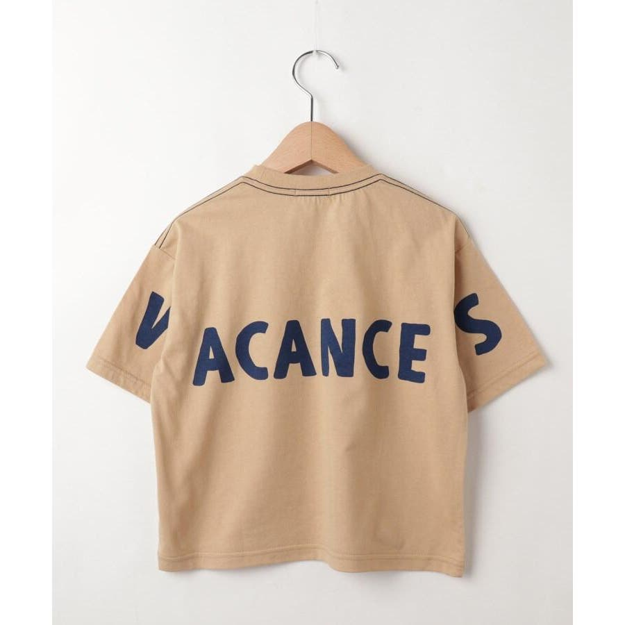 【100-150cm】ぐるりロゴビッグTシャツ 3