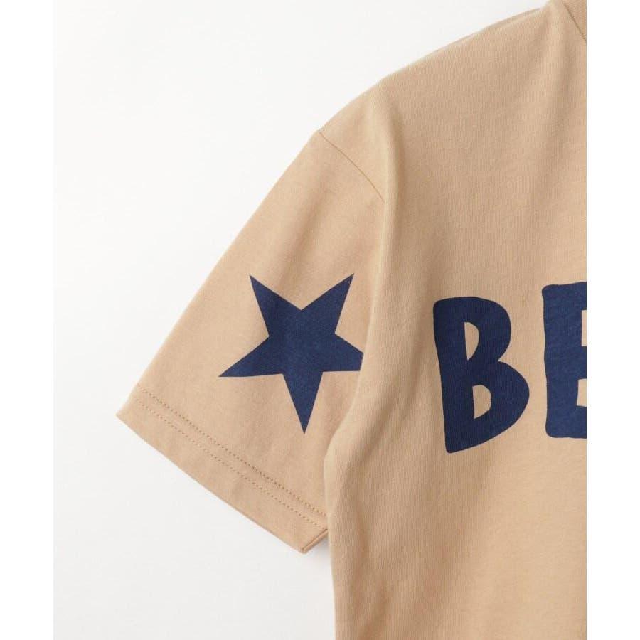 【100-150cm】ぐるりロゴビッグTシャツ 4