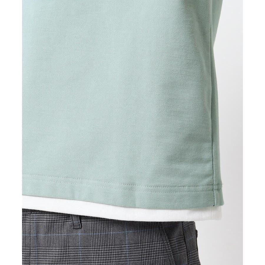 【接触冷感】インレイフェイクレイヤードTシャツ 2