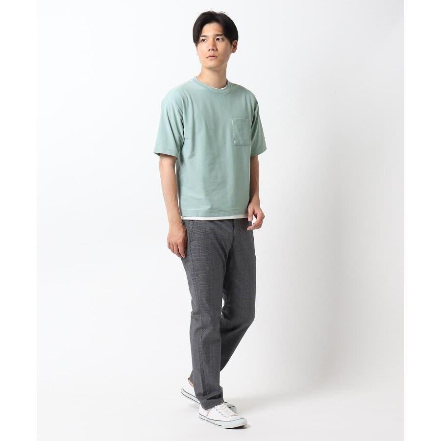 【接触冷感】インレイフェイクレイヤードTシャツ 4