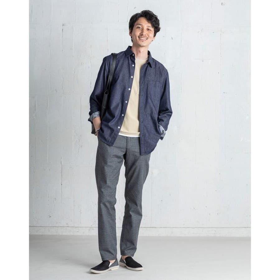 【接触冷感】インレイフェイクレイヤードTシャツ 7