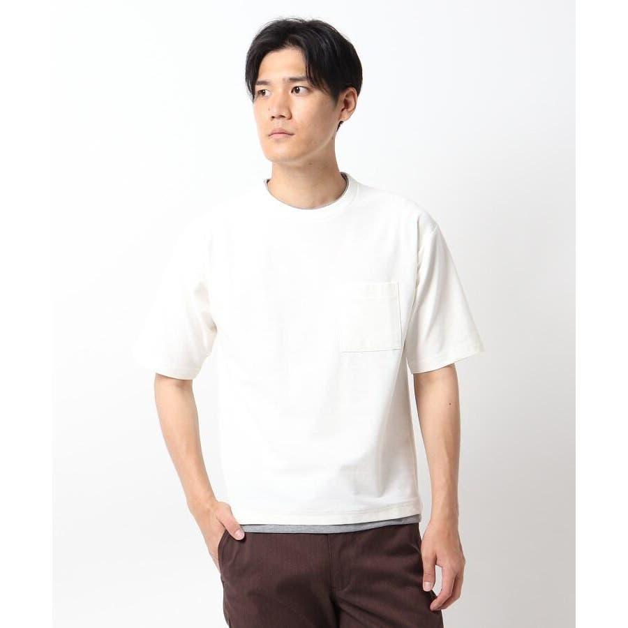 【接触冷感】インレイフェイクレイヤードTシャツ 17