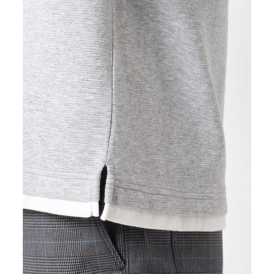 【接触冷感】ポリエチレンフェイクベストTシャツ 2