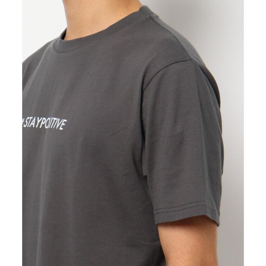 【日本財団チャリティー】#staypositive リサイクルコットンTシャツ 6