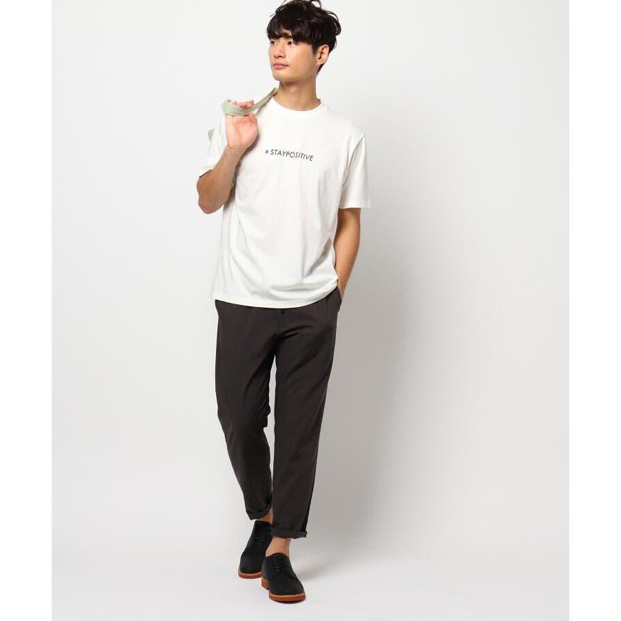 【日本財団チャリティー】#staypositive リサイクルコットンTシャツ 9
