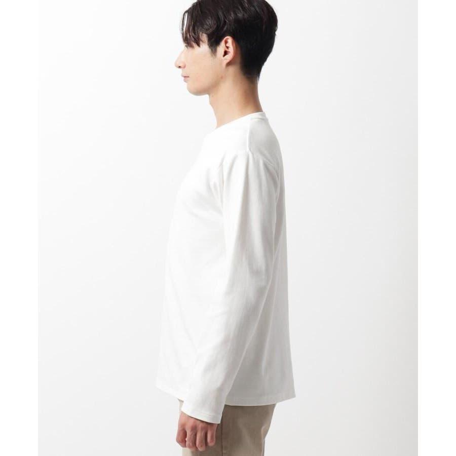 【QUICK DRY】ポンチケーブル切替クルーネックTシャツ 5