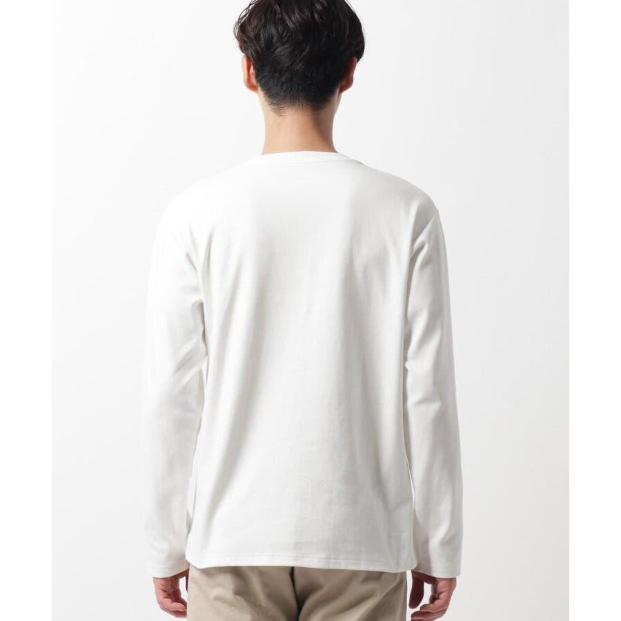 【QUICK DRY】ポンチケーブル切替クルーネックTシャツ 6