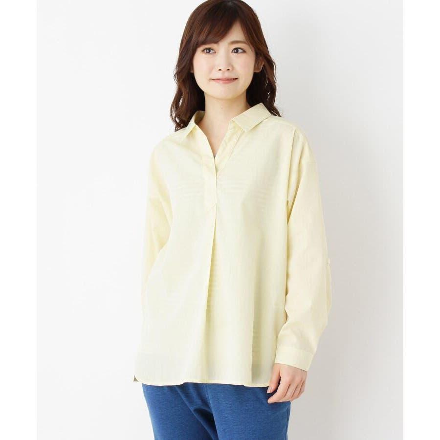 【2点セット】スキッパーシャツ+タンクトップ 2