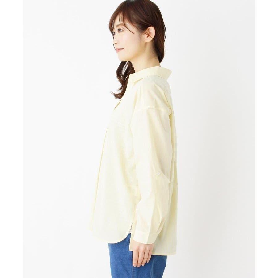 【2点セット】スキッパーシャツ+タンクトップ 6