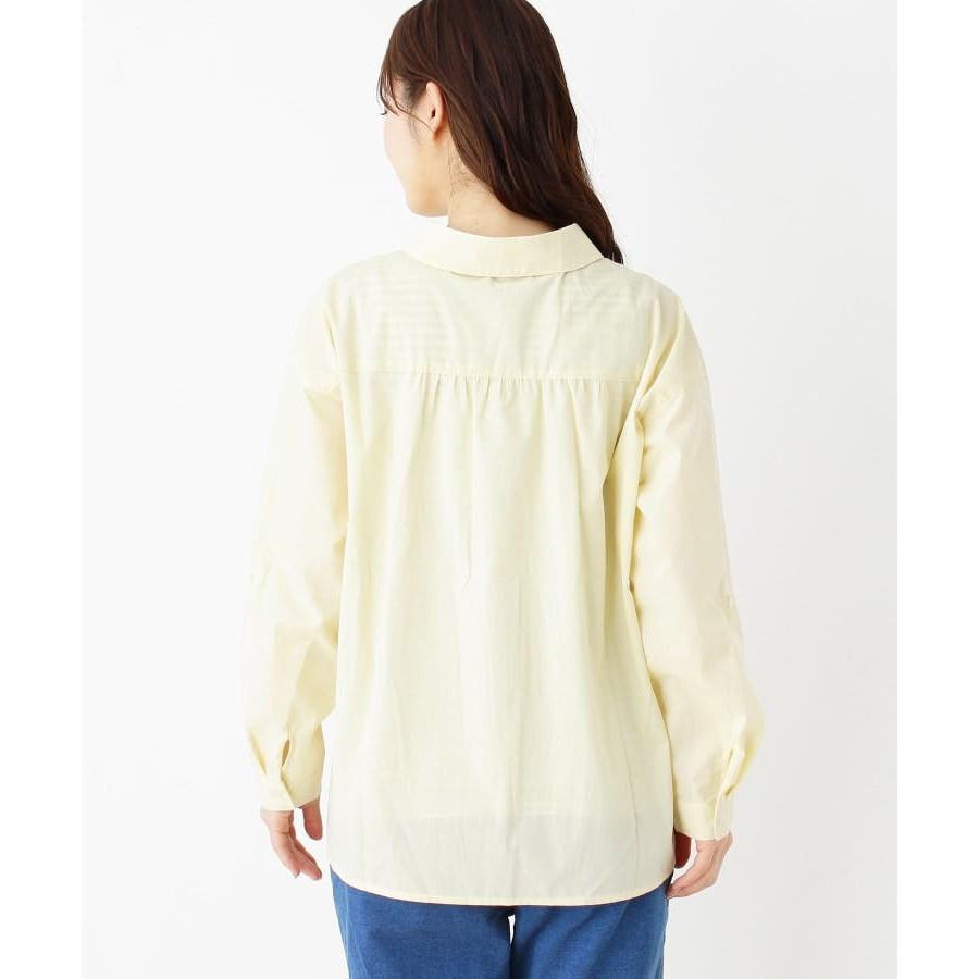 【2点セット】スキッパーシャツ+タンクトップ 7