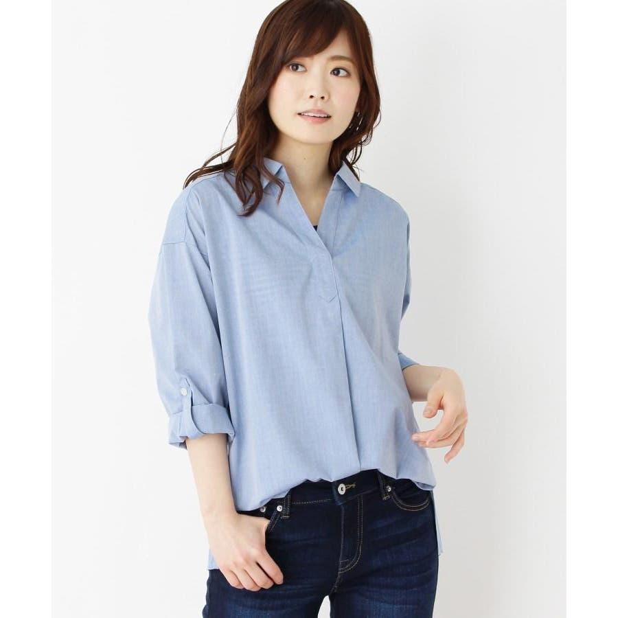 【2点セット】スキッパーシャツ+タンクトップ 60