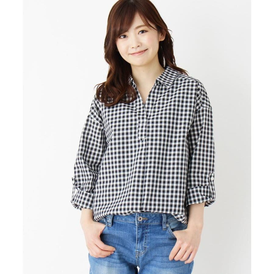 【2点セット】スキッパーシャツ+タンクトップ 21