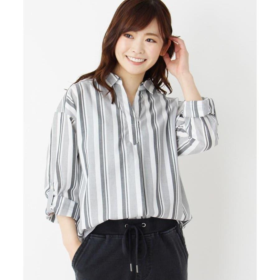 【2点セット】スキッパーシャツ+タンクトップ 18