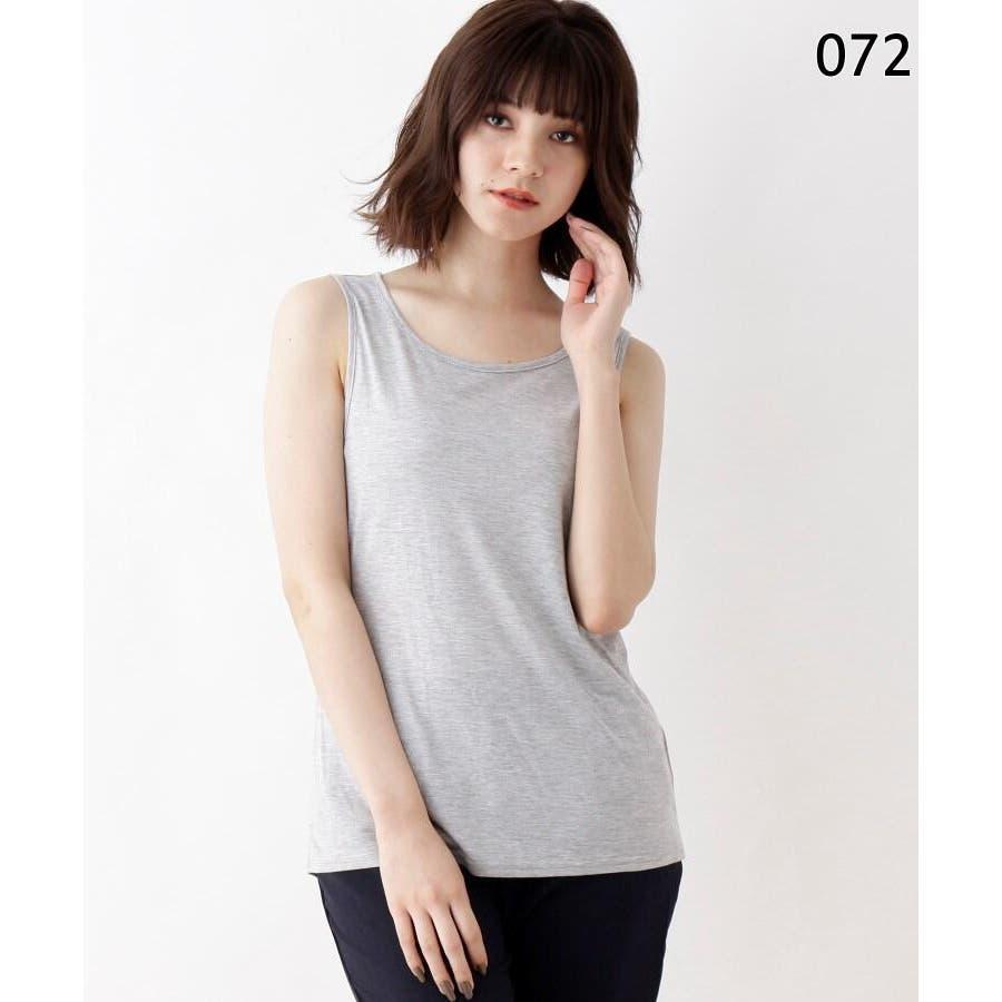 【M-3L/2点セット】シャツ+タンクトップ 3