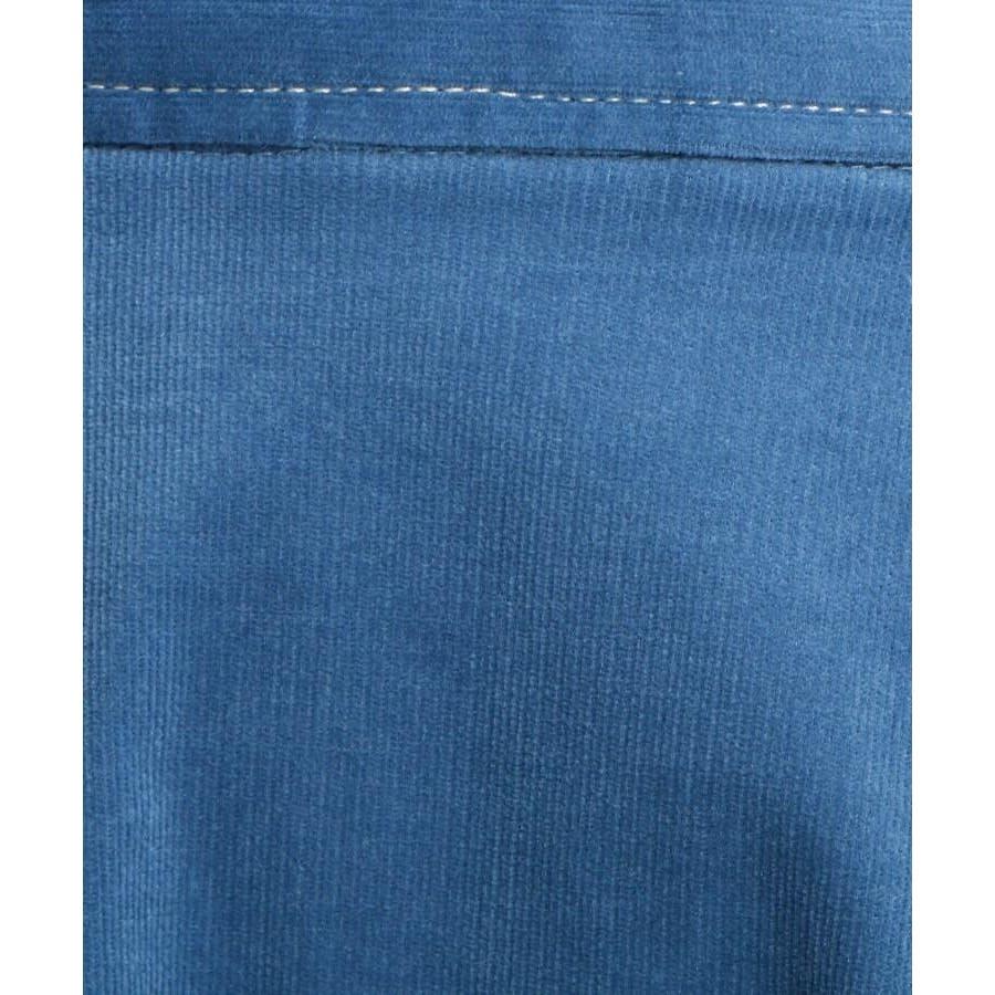 【Sサイズあり 洗える】超長綿コーデュロイフレアスカート 7