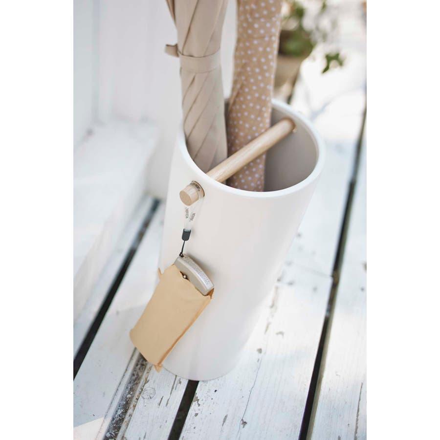 陶器傘立て コモ スリム ホワイト 2