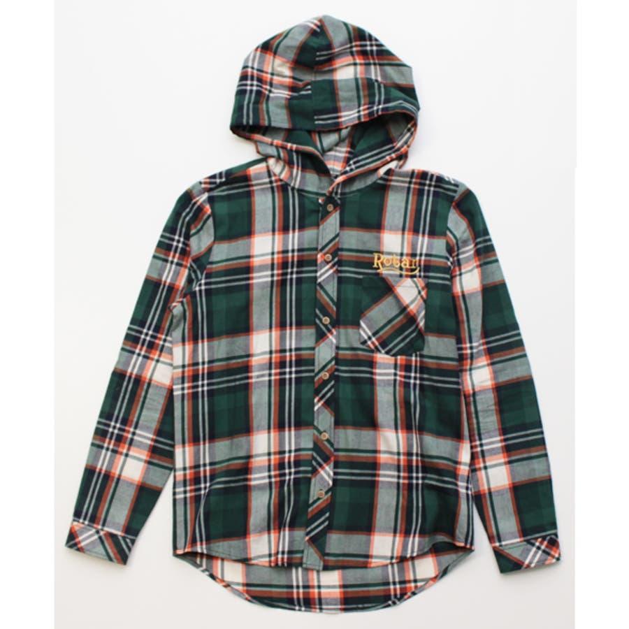 値段も安く商品もしっかりしている メンズファッション通販「Chizu Rotar」フードシャツ 理窟