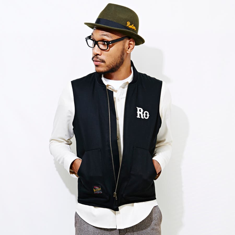 色合いが良く気に入りました B.B. Embroidery Work Down Vest 驀然