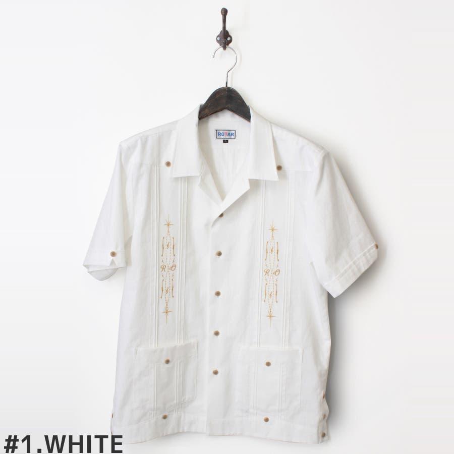 メンズ一大トレンド The music pattern Cuba shirt 語彙
