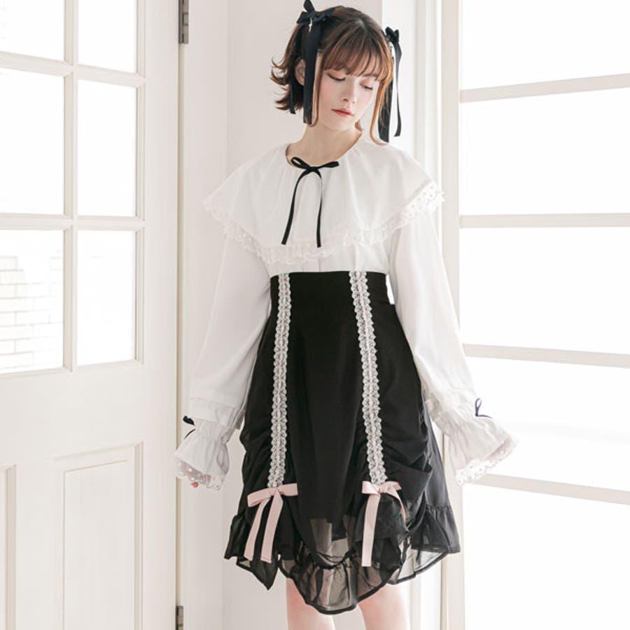 スカート シャーリング カーテン 2