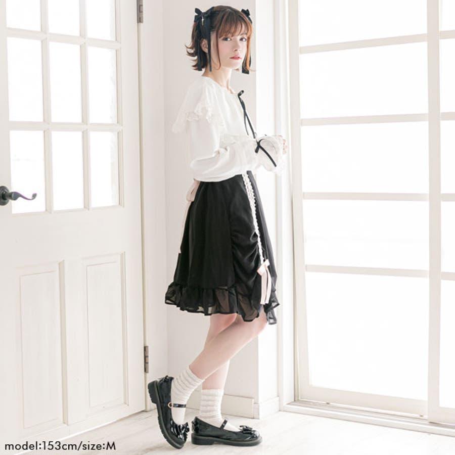 スカート シャーリング カーテン 3