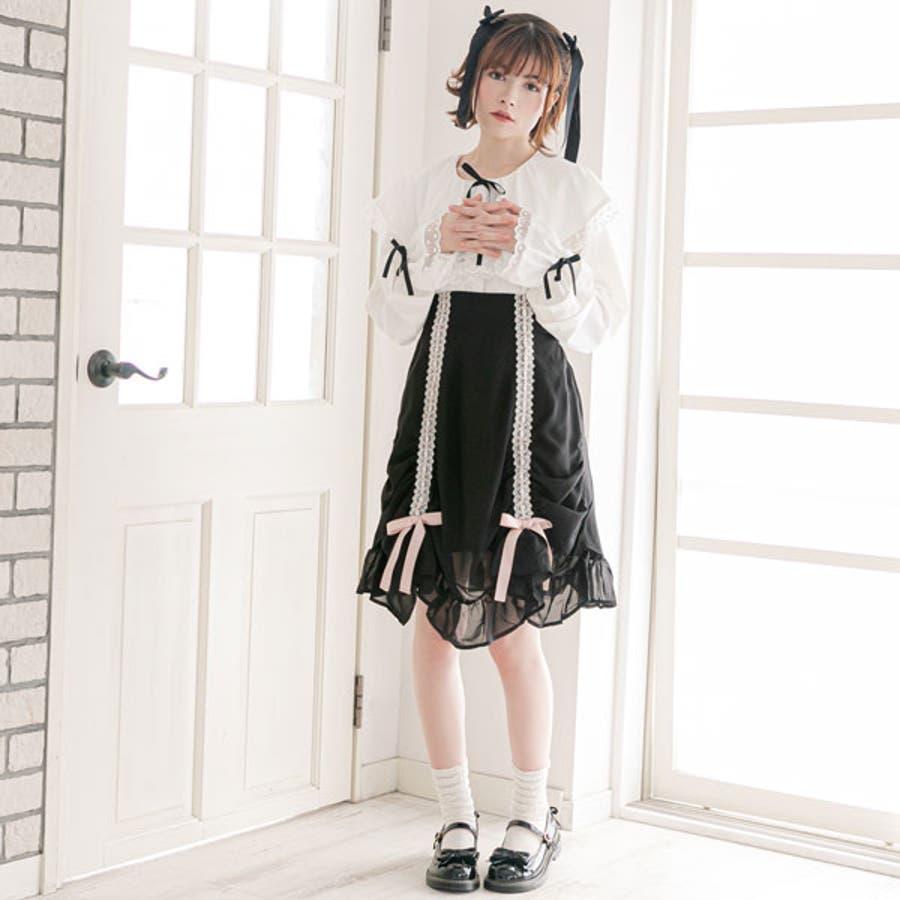 スカート シャーリング カーテン 4