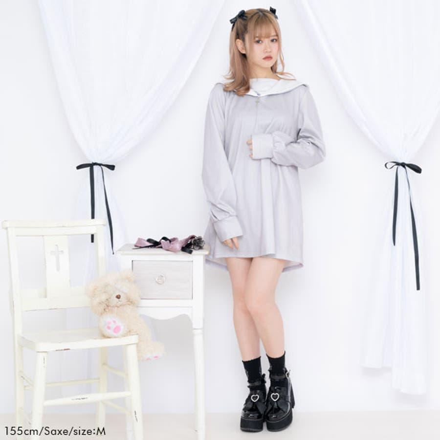 闇天使カットソーワンピース 韓国 オルチャン 夢展望 2