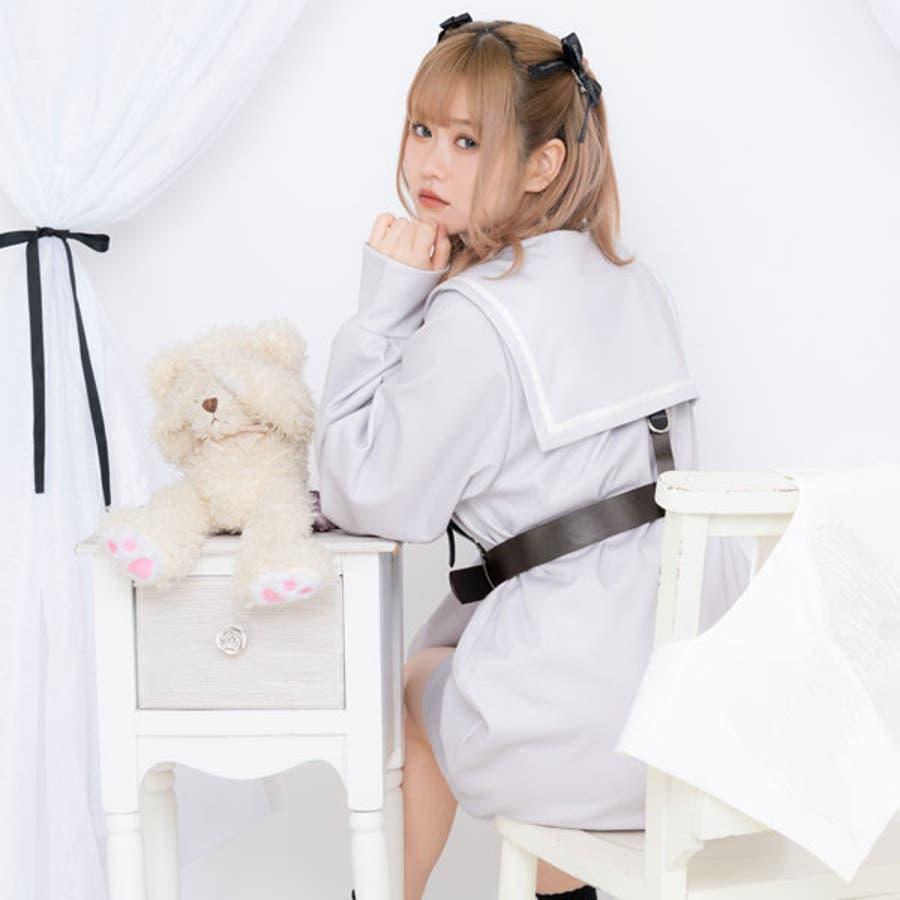 闇天使カットソーワンピース 韓国 オルチャン 夢展望 5