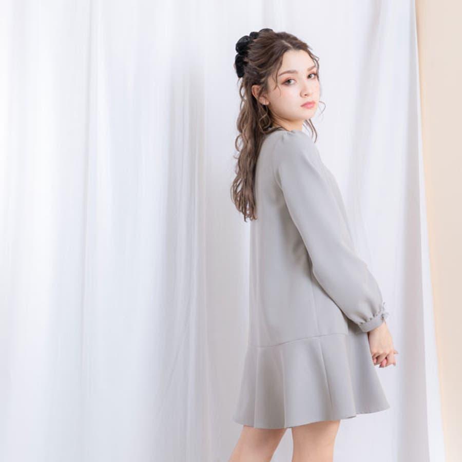 シンプルヘムフレアガーリーワンピース 韓国 オルチャン 夢展望 6