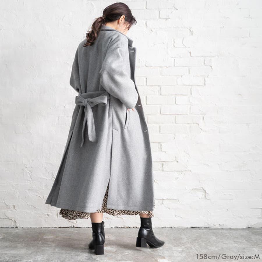 ベルト付き ロング コート 韓国 オルチャン 夢展望 4