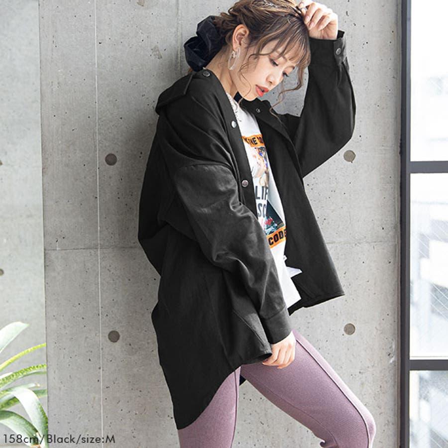 オーバーサイズシャツ 韓国 オルチャン 夢展望 5