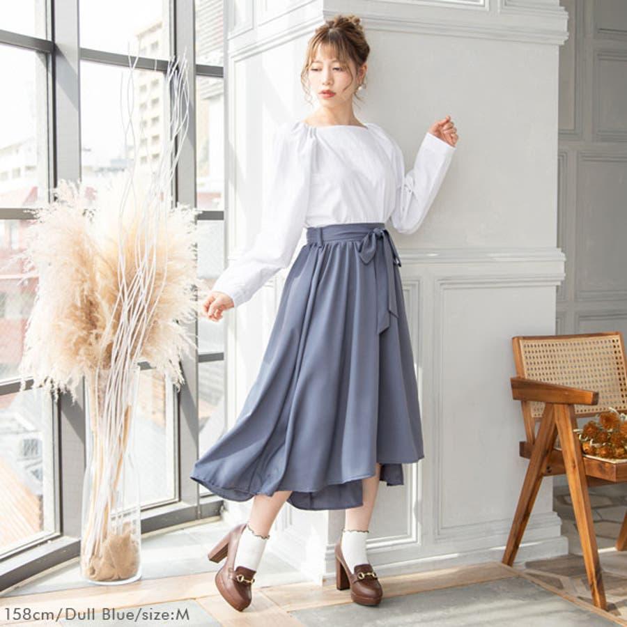 フィッシュテールリボンスカート 韓国 オルチャン 夢展望 2