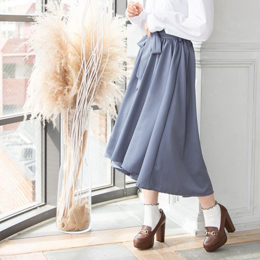 フィッシュテールリボンスカート 韓国 オルチャン 夢展望 3