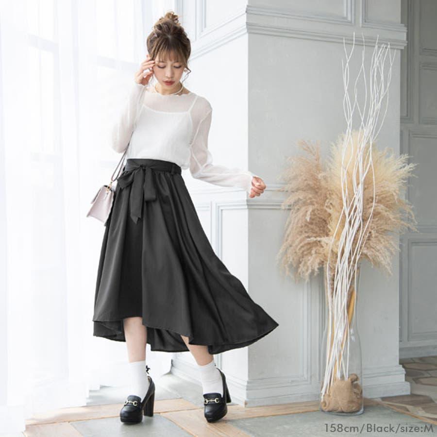 フィッシュテールリボンスカート 韓国 オルチャン 夢展望 7