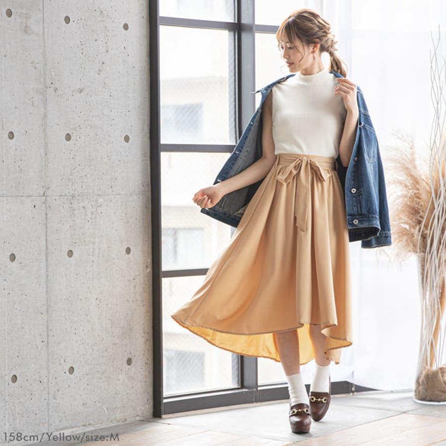 フィッシュテールリボンスカート 韓国 オルチャン 夢展望 9