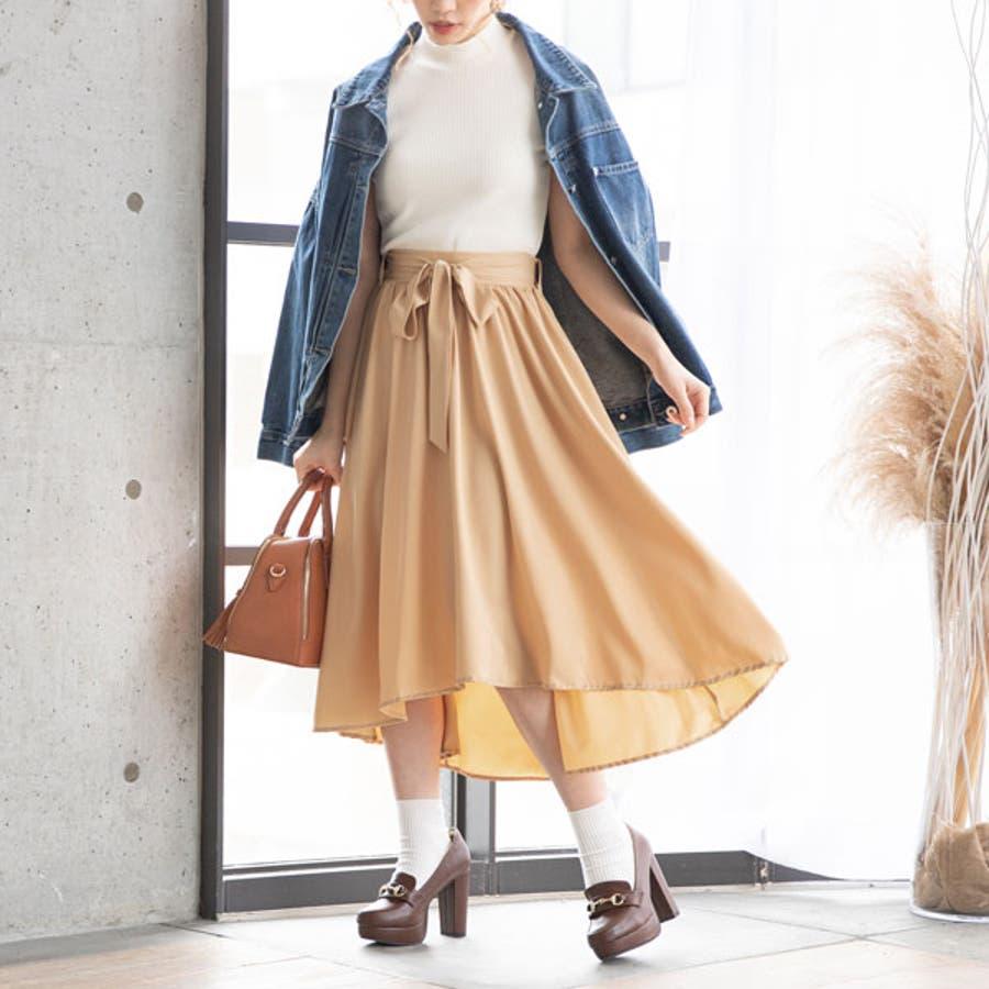 フィッシュテールリボンスカート 韓国 オルチャン 夢展望 10