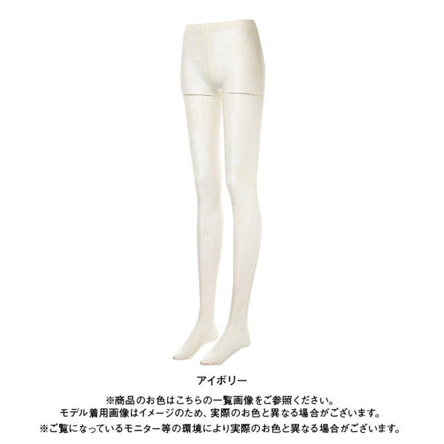 Rose柄タイツ 韓国 オルチャン 夢展望 5