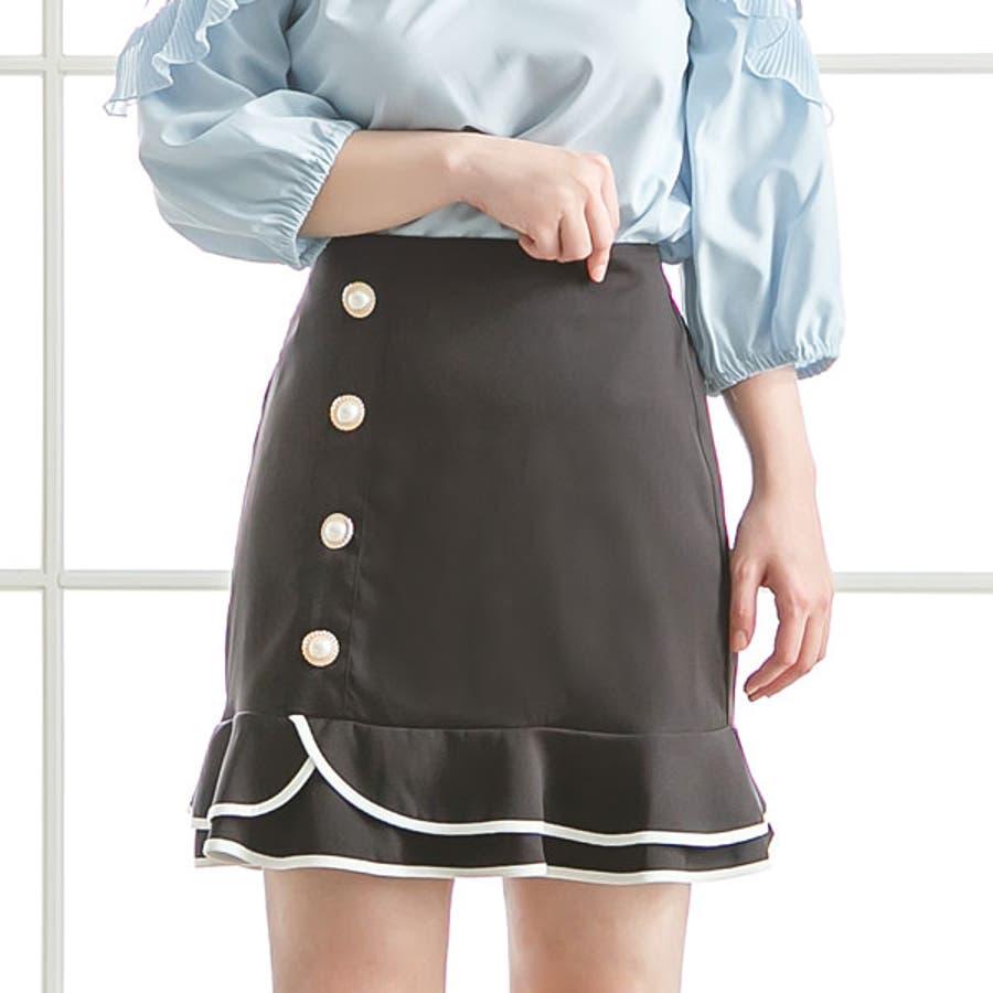 スカート 切り替え パイピング 21